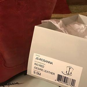 Jessica Simpson cowboy boot